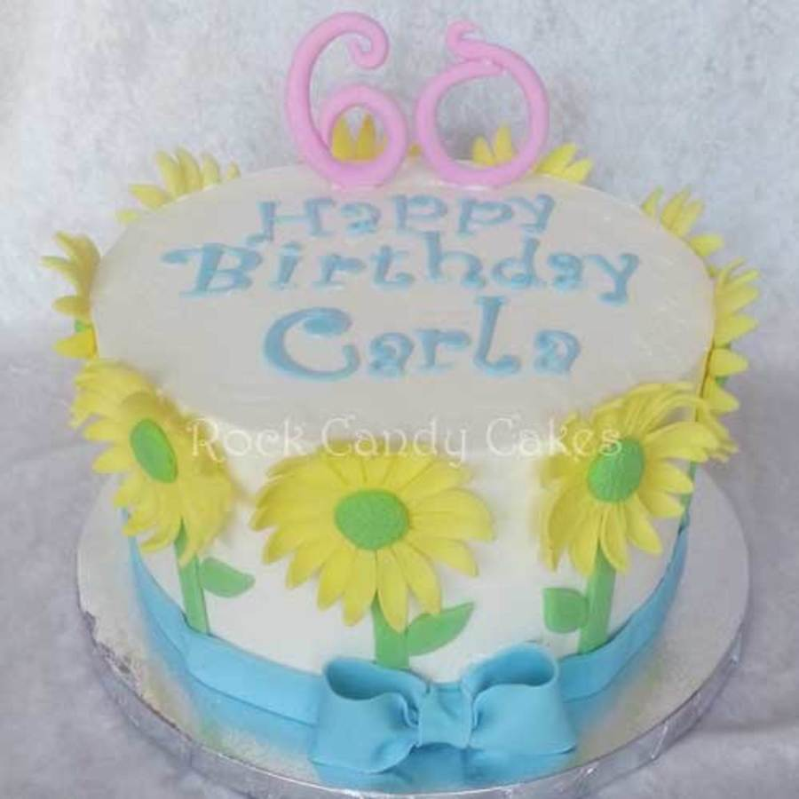 Spring Daisy Cake on Cake Central