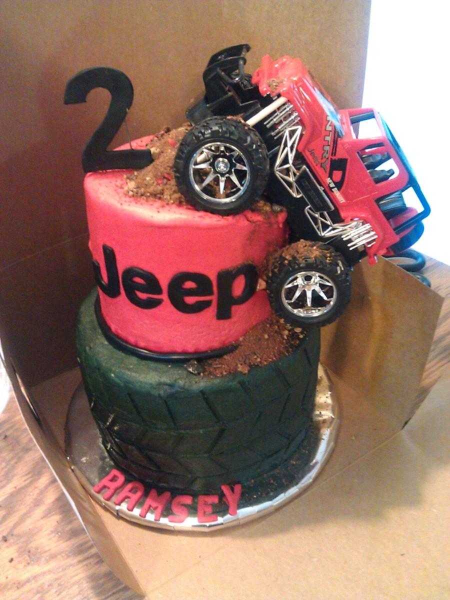 Jeep And Tire Cakecentral Com