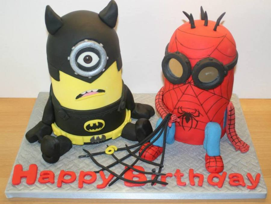 Superhero Minions Cake | www.pixshark.com - Images ...