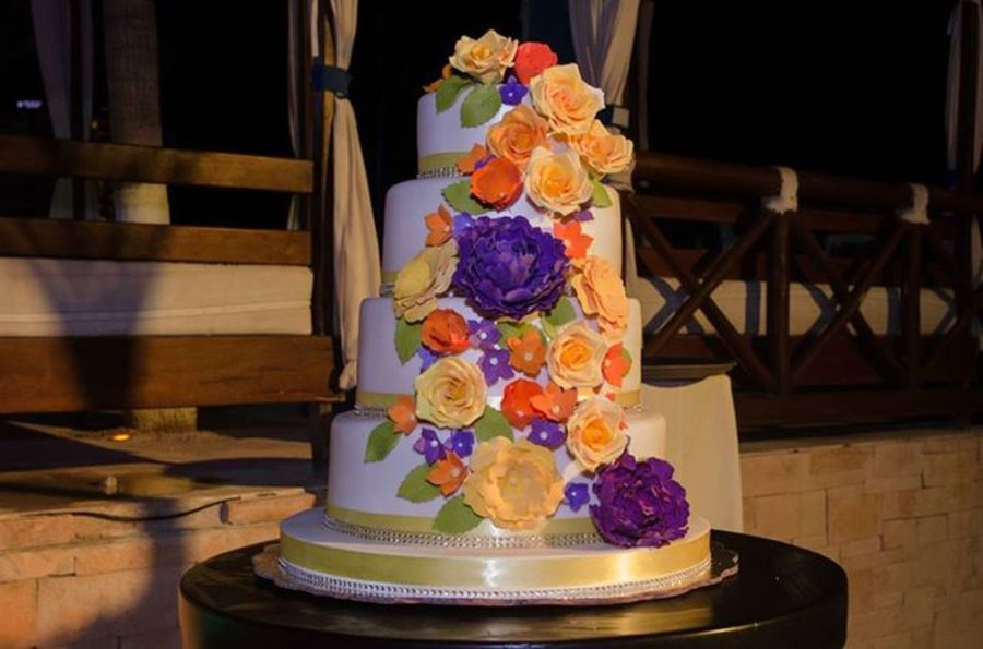 Multicolor Flowers on Cake Central