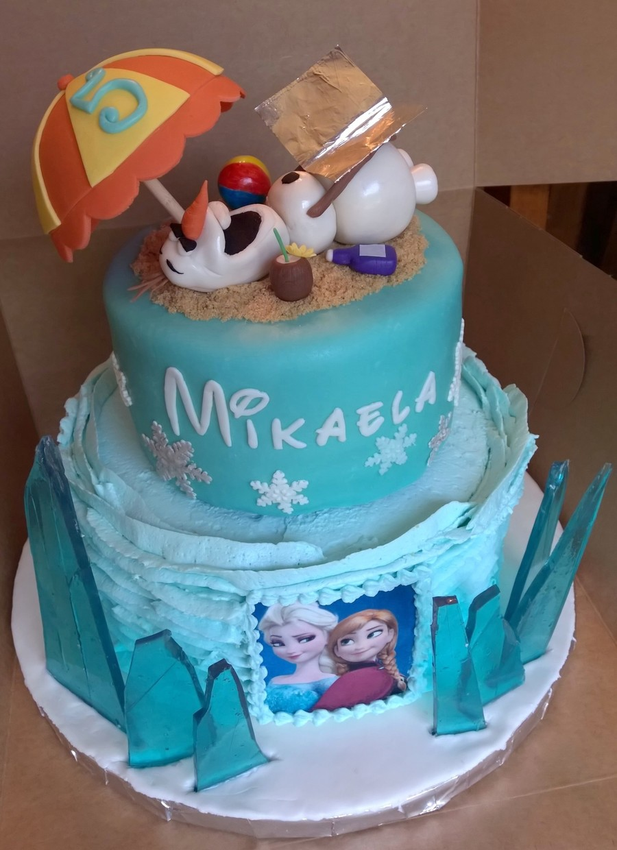 Frozen Cake Recipe Ideas