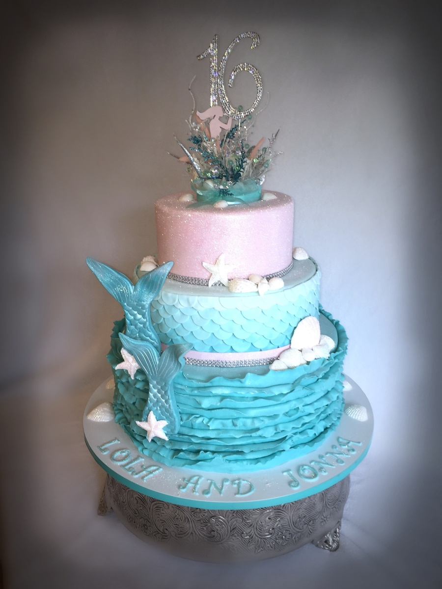 Under The Sea Sweet 16 Cakecentral Com