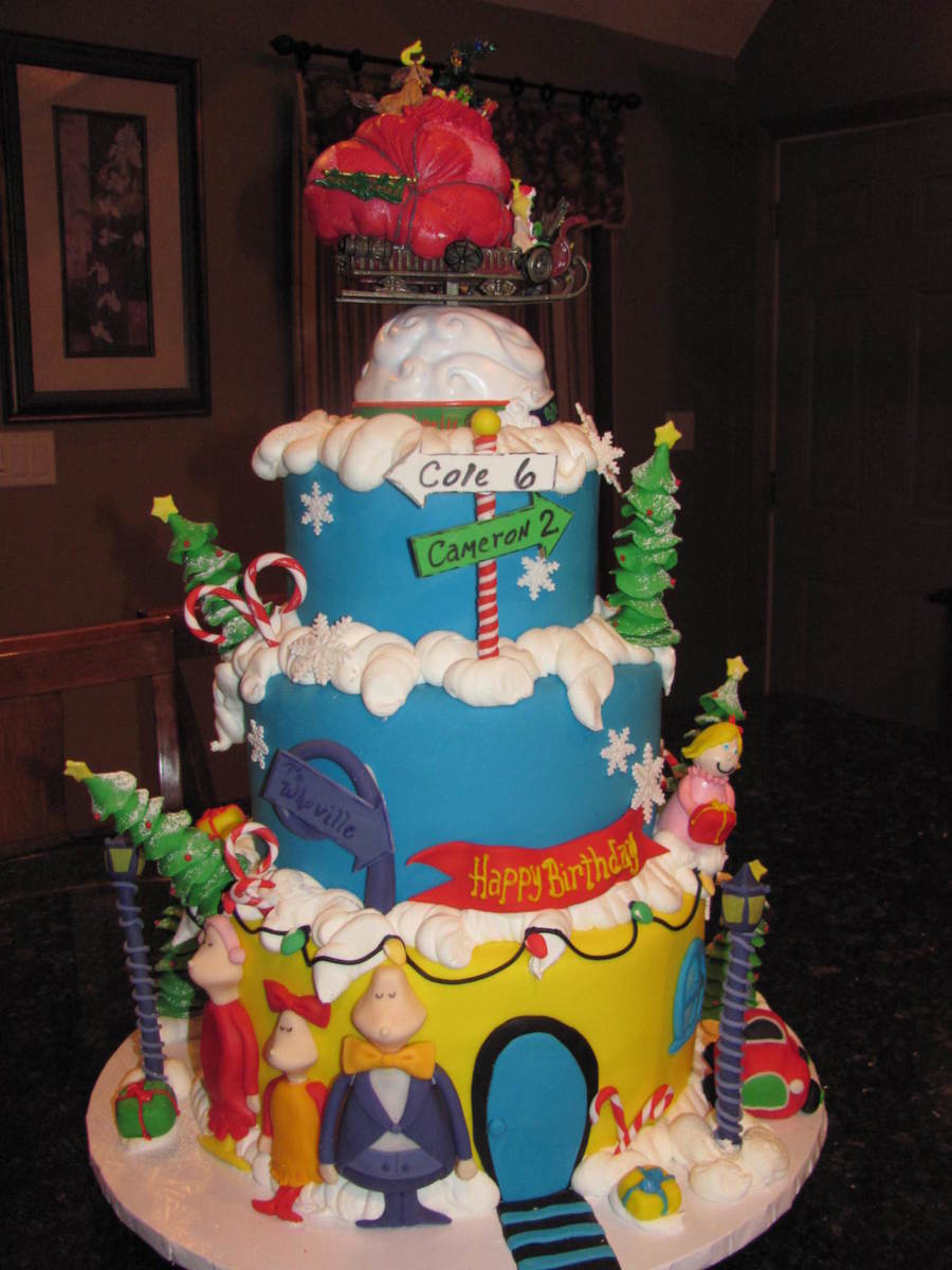 Whoville Birthday Cakecentral Com