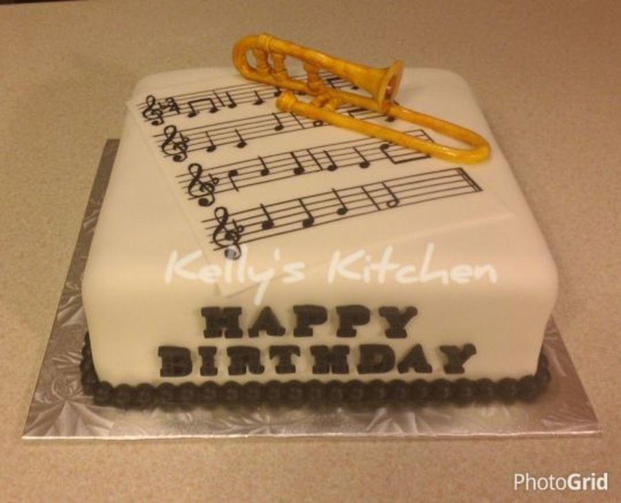 Trumpet Cake Ideas