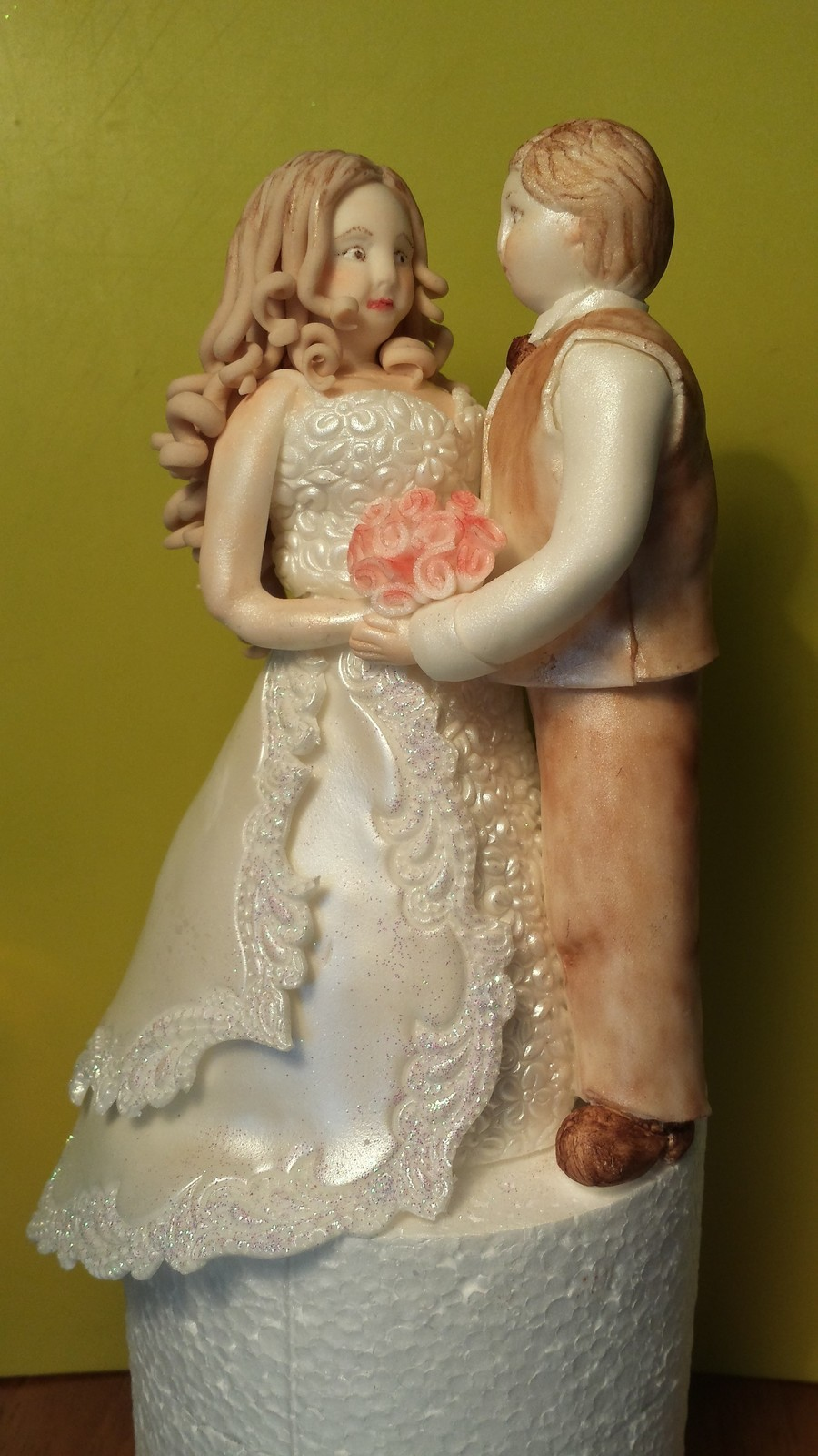 Bride And Groom Cake Topper Cakecentral Com