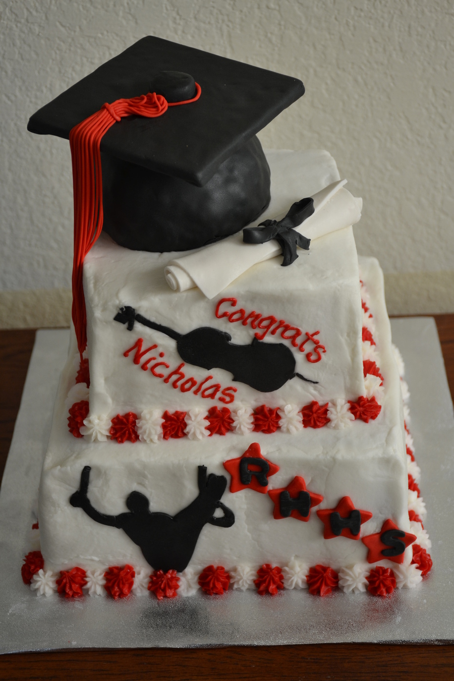 Bridal Shower Ideas Black And Red