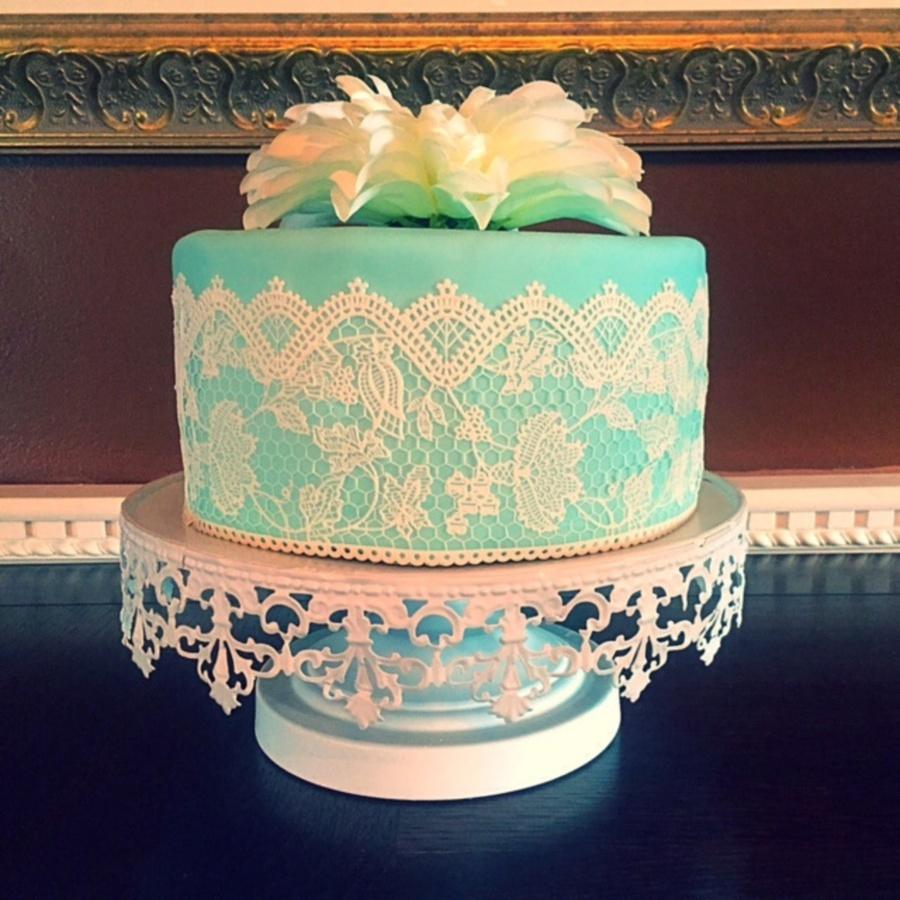 tiffany blue bridal shower cake on cake central