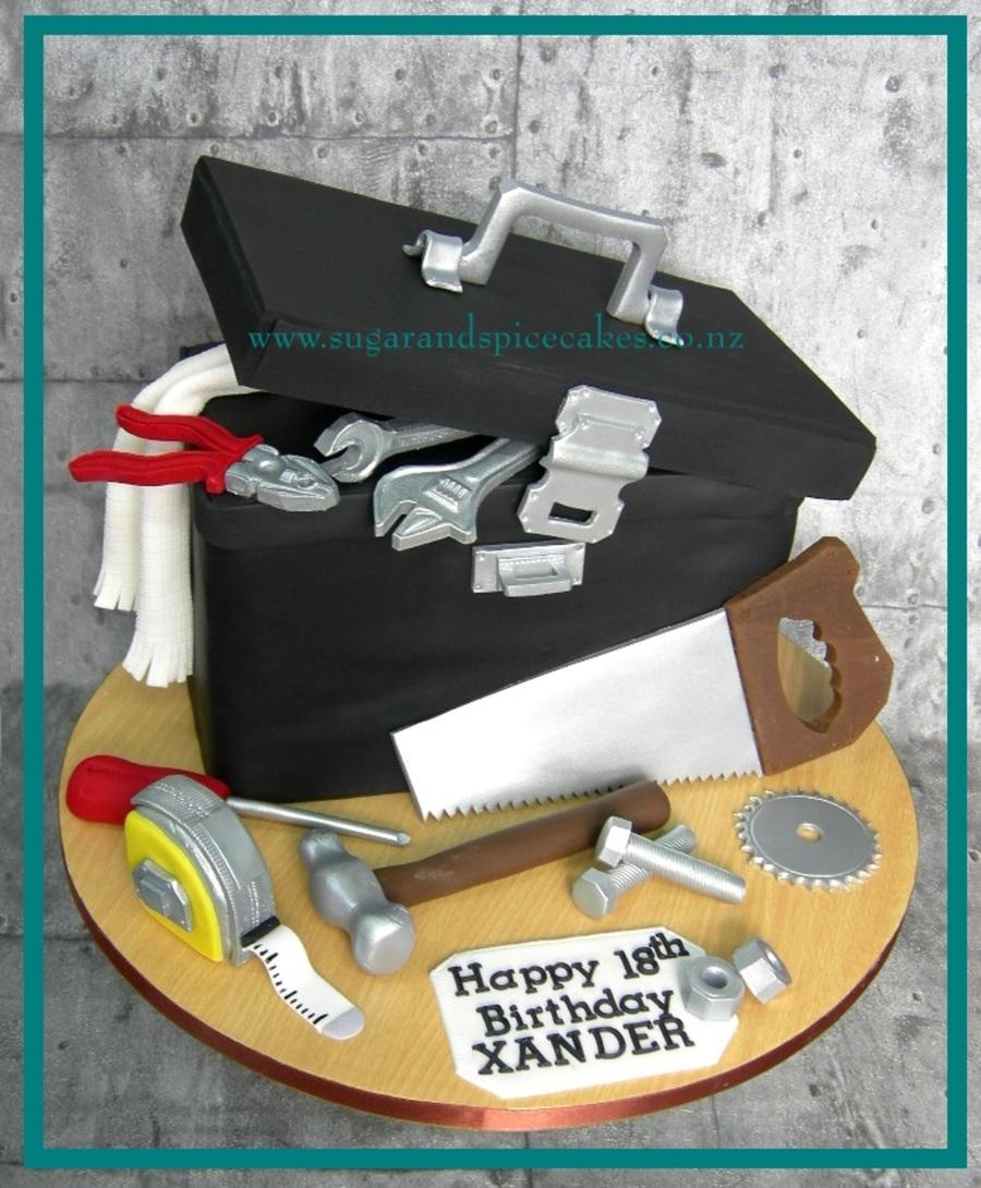 Tool Box Cake Cakecentral Com