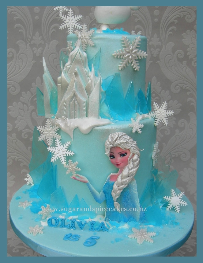 Frozen Birthday Cake Makers