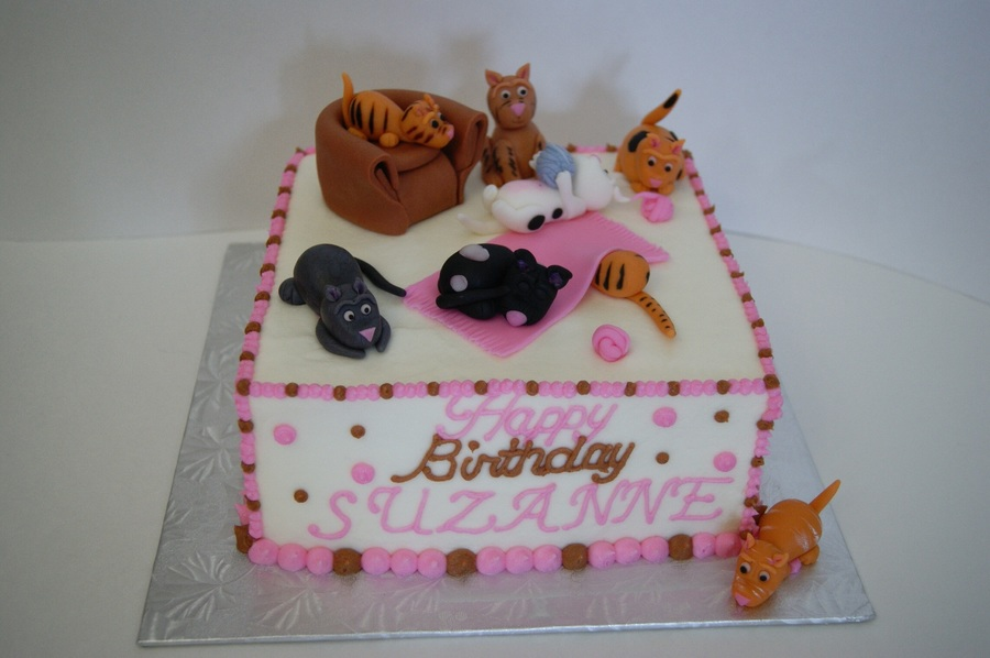 Crazy Cat Lady Cake Cakecentral