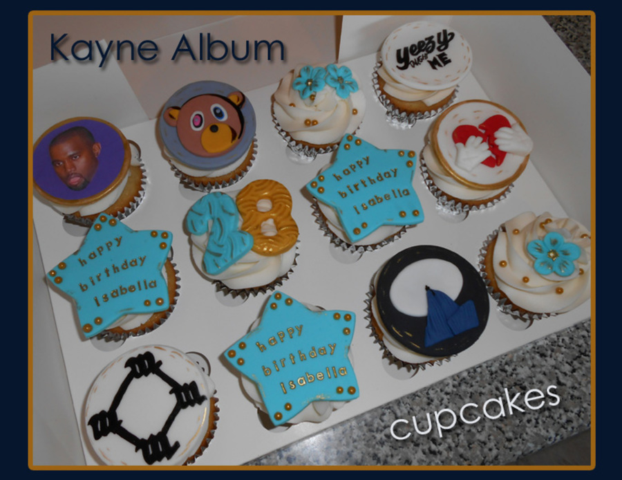 Kanye Cupcakes Cakecentral