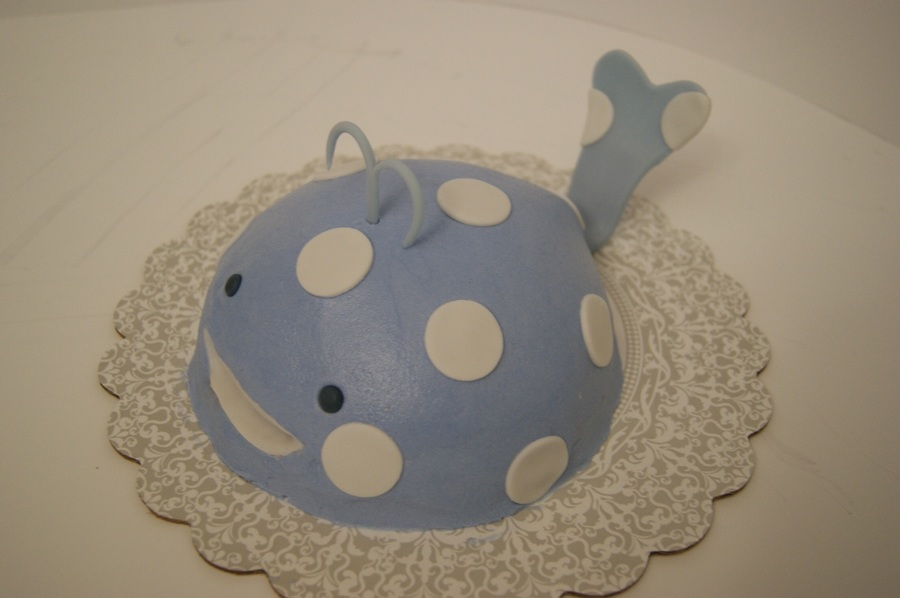 Whale Smash Cake on Cake Central