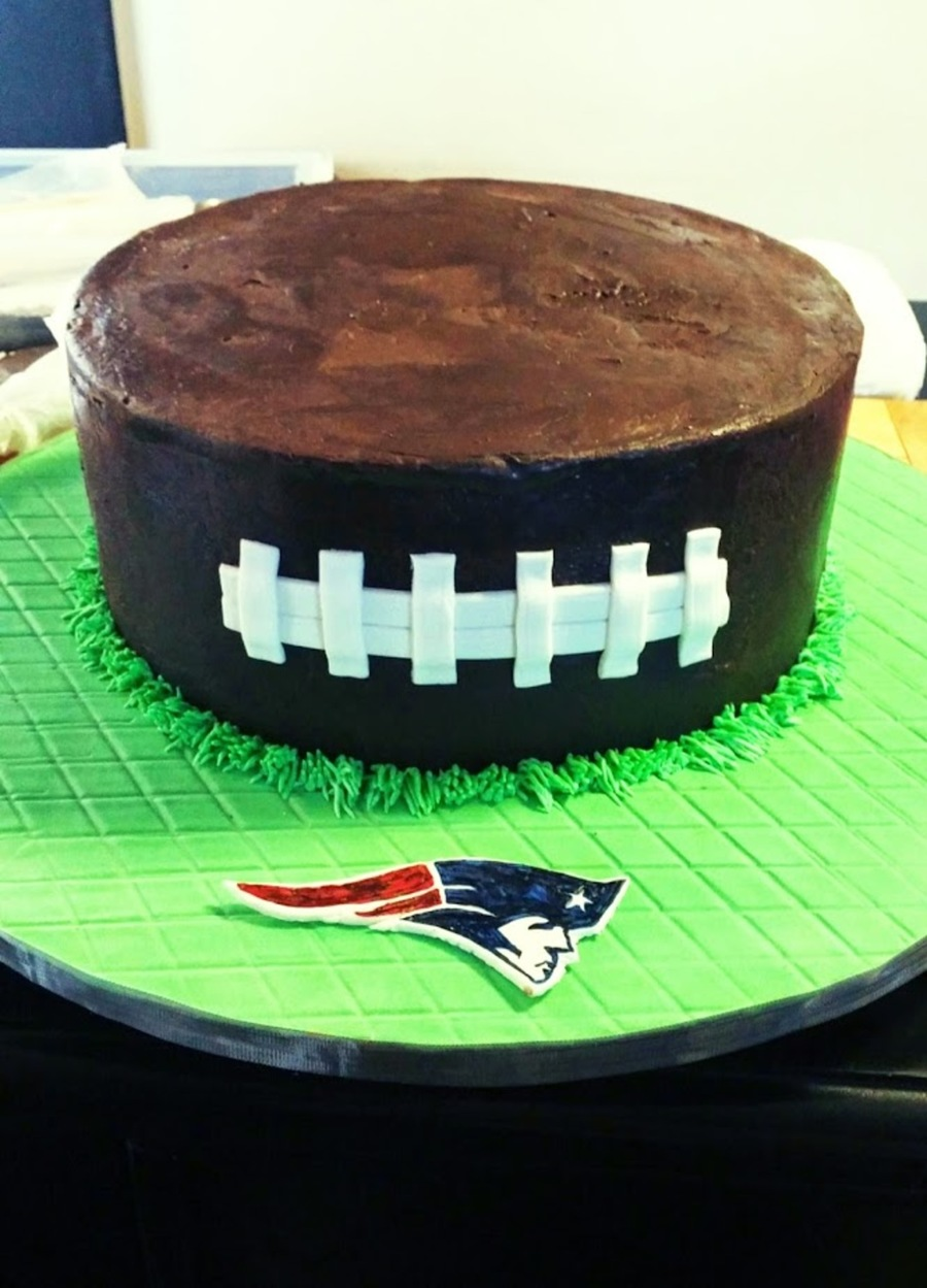 New England Patriots Cake on Cake Central