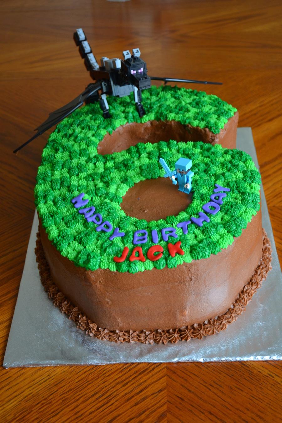 Minecraft 6 Birthday Cake Cakecentral
