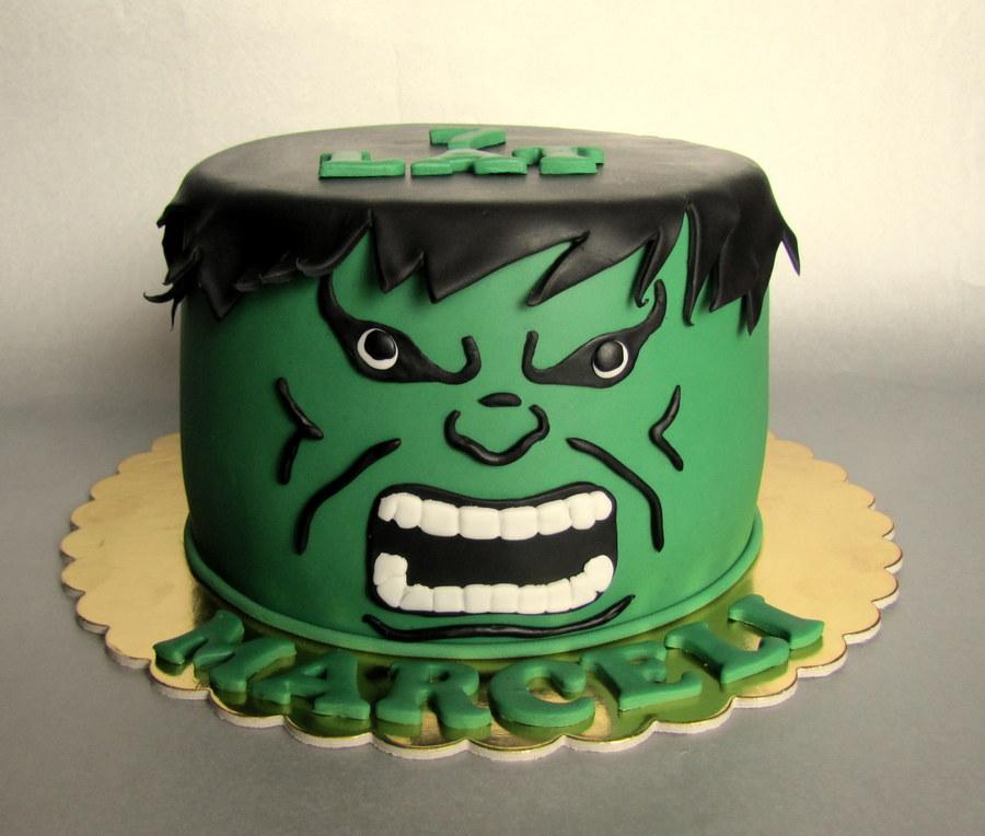 Торт с халком фото