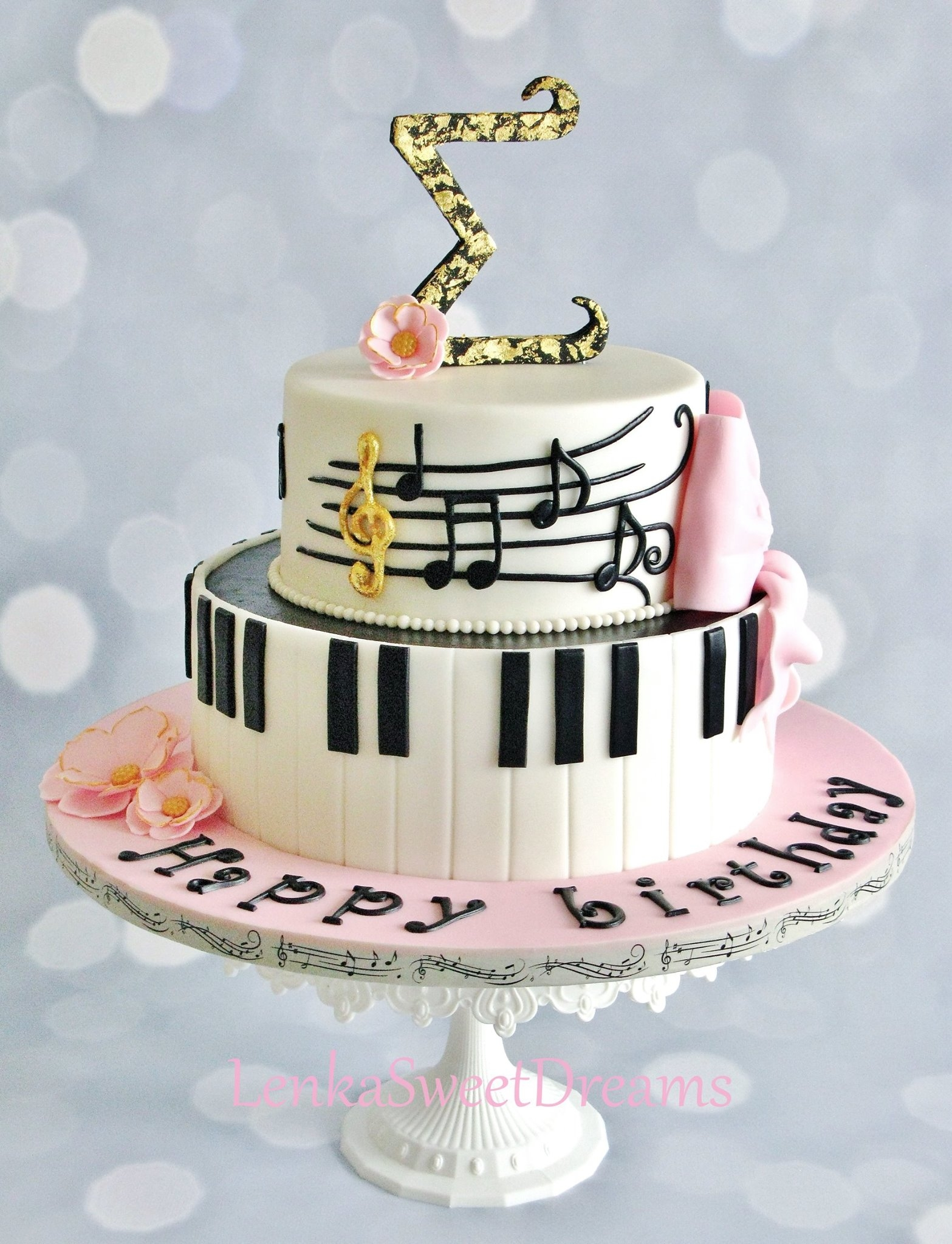 Musical Notes Cake Images