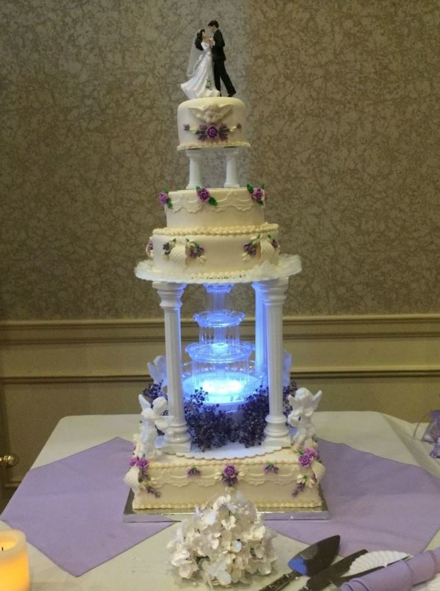 Cake Decorating Water Fountain