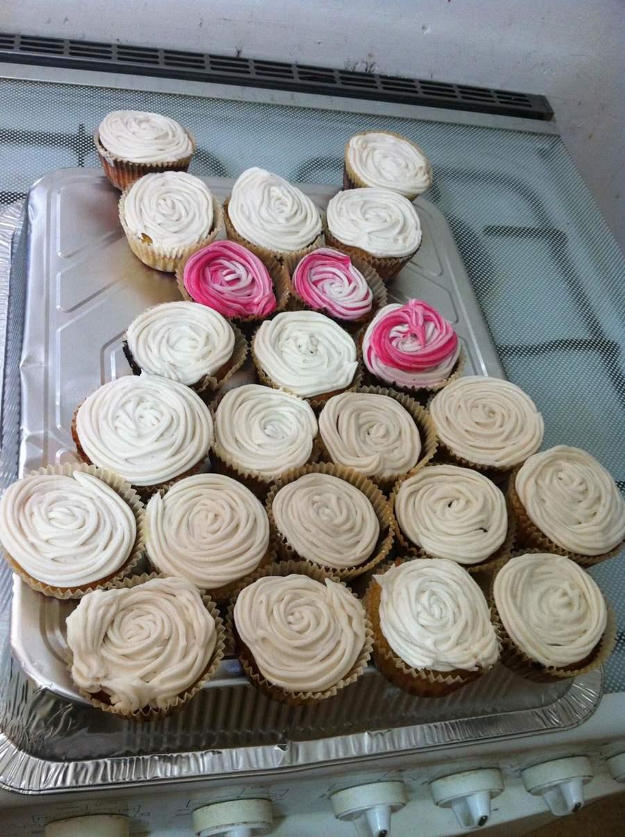 bridal shower wedding dress cupcakes - cakecentral