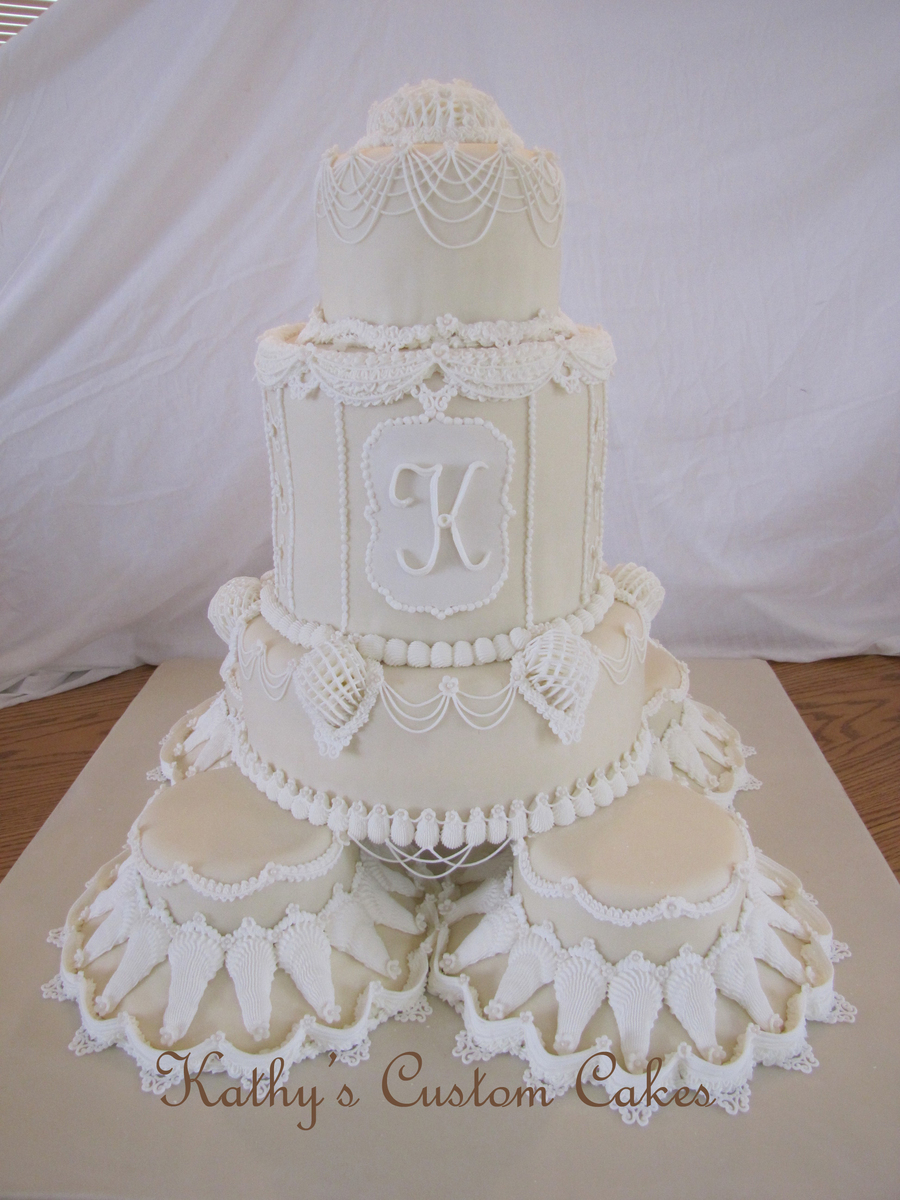Lambeth Wedding Cake Cakecentral Com