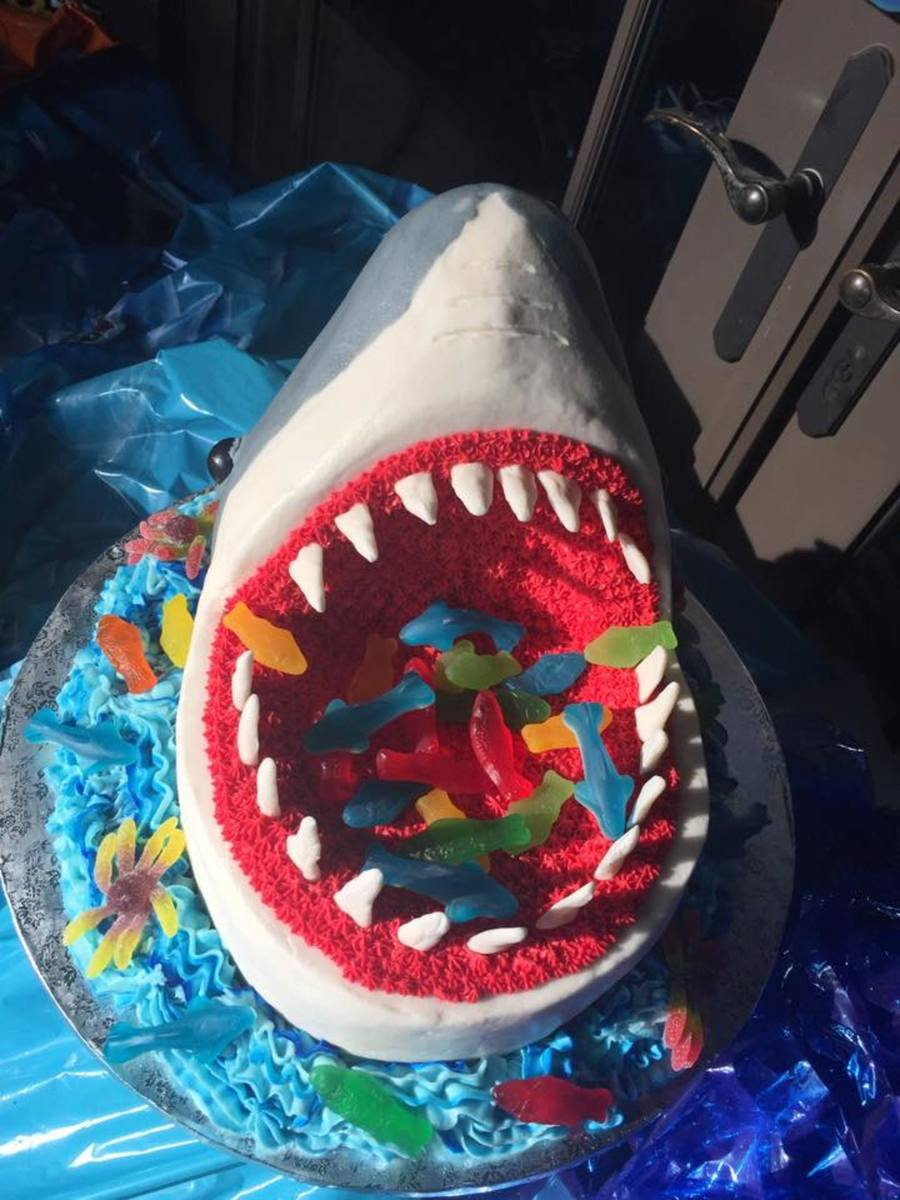 Great White Shark Cake Ideas