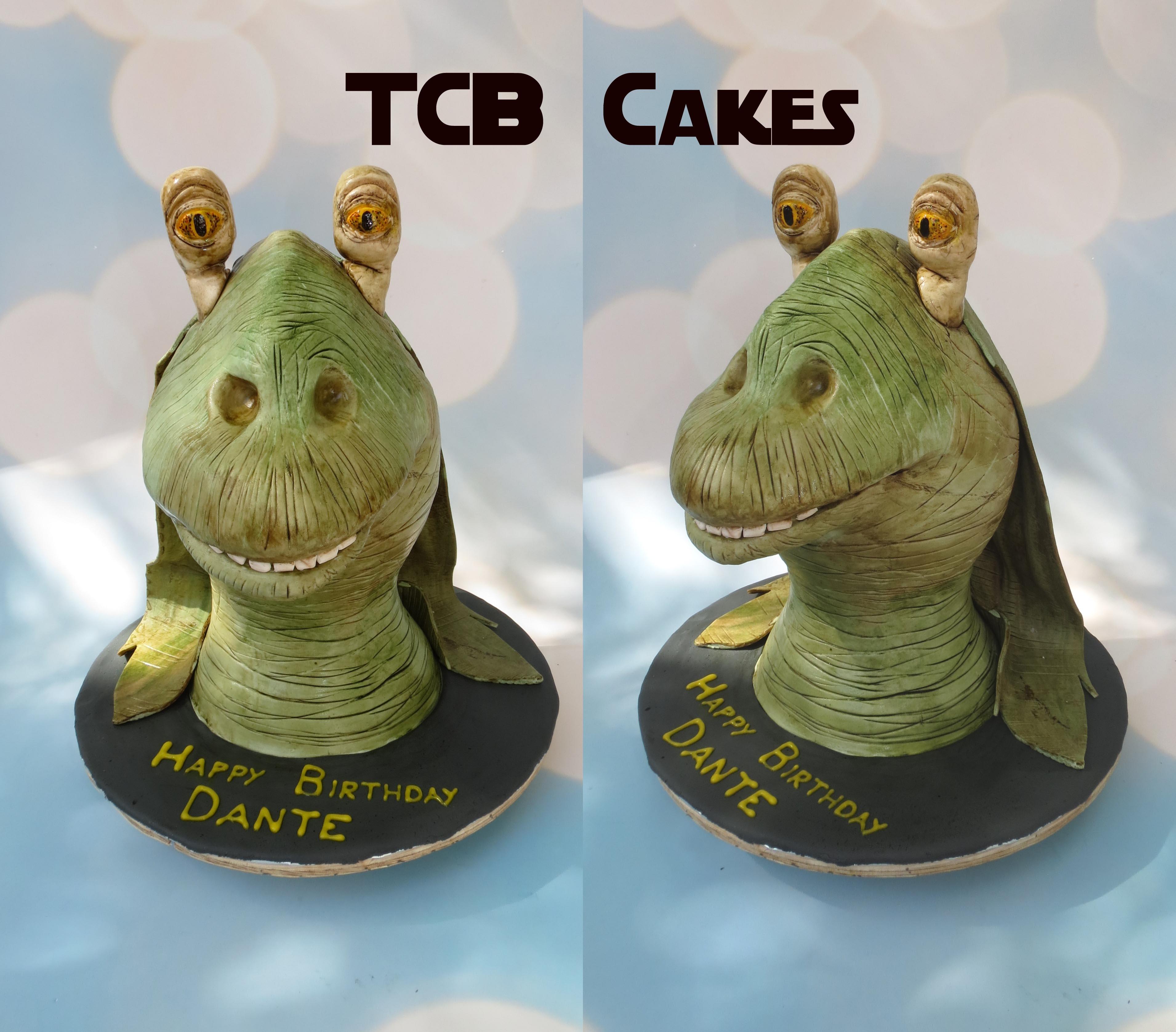 Star Wars Jar Jar Binks Cakecentral Com