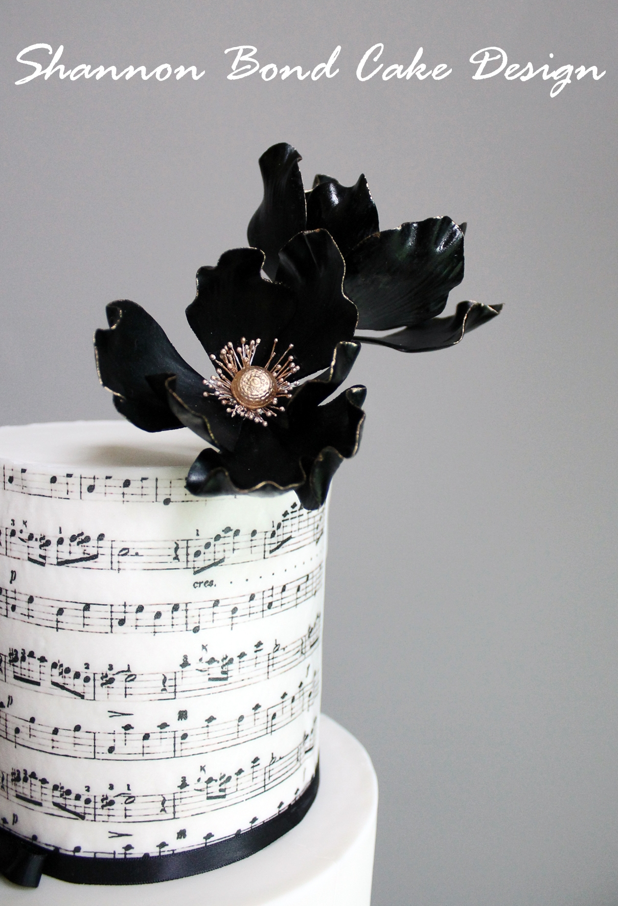 Music And Lace Wedding Cake CakeCentral