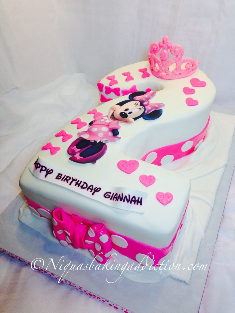 Minnie Mouse Number 2 Cake - CakeCentral.com