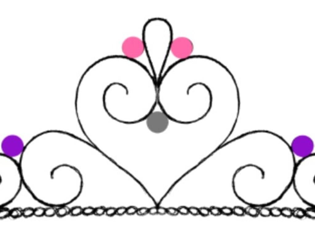 Tiara (Crown) Cupcake Template - CakeCentral.com