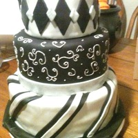 Masquerade Cake This was made for a masquerade themed sweet 16 party