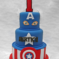 Captain America Captain America for Mkrtich's 1st birthday.