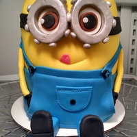Minion! Made this for my nephew. He loves Minions!