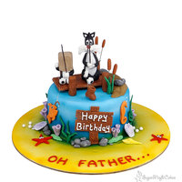 Sylvester And Son......oh Father! Made this for my beloved father......he loved it! :-)