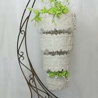 Green Orchids - A Hanging Wedding Cake It is the present I made to Vanya and Michail, a happy couple in love. Let them love each other and I wish them all the happiness in the...