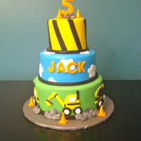 Construction Birthday Cake I did this cake for Icing Smiles. Had a blast! All fondant/gumppaste.