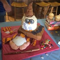 Harry Potter Baby Shower Cake Harry Potter themed baby shower cake