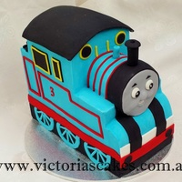 3D Thomas The Tank Engine Birthday Cake 3D Thomas the Tank Engine 3rd birthday cake. For more pictures visit my facebook page https://www.facebook.com/victoriascakes.com.au