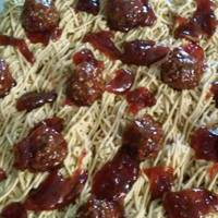 Spaghetti And Meatball Cupcakes something different and fun
