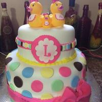 Girl Baby Shower baby shower duck theme