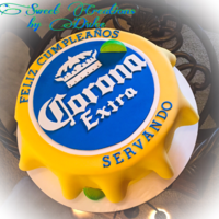 Corona Cap Cake I love this cake, it turned out really awesome :)
