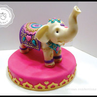 Indian Elephant White elephant for an indian themed Sweet 16.