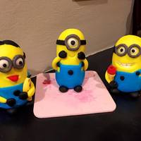 Minion Fondant Figurines   Figurines only