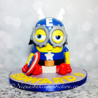 Captain Minion Cake It's Captain Minion!!!