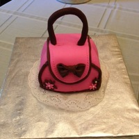 My Tiny Purse Birthday Cake Today is my birthday so I decided to make me a cake. I chose a purse cake because those who know me, know how much I love purses and...