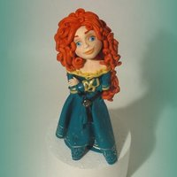 Merida   My sugar figurine