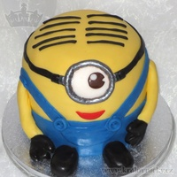 Minion For Little Lucas Large 2 stage cake (internally, not visible from outside) for little Lucas birthday. Fondant covered and decorated. The whole birthday...
