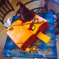 Harry Potter Cake To the original creator of this cake, who came up with this design I have to say, you did an outstanding job.Being a huge fan of Harry...