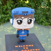 Connor Mcdavid Chibi For my husband and his friends' annual NHL draft party.