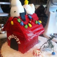 Snoopy House At Christmas Snoopy Christmas