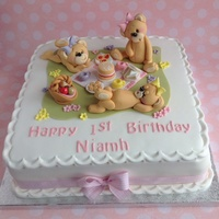 Teddy Bears Picnic Teddy cake