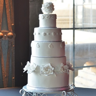 Soft Baroque Wedding Cake